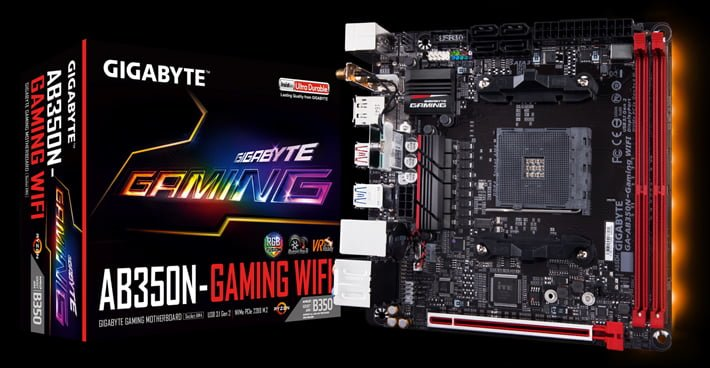 Gigabyte AB350N-Gaming comes with server-class components