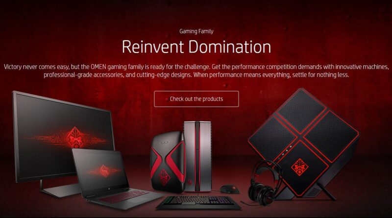 7132a81cffc HP breathes new life into OMEN gaming line