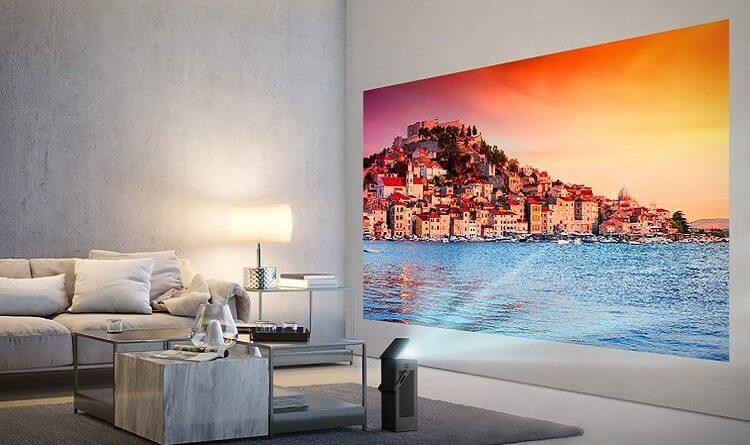 LG 4K projector