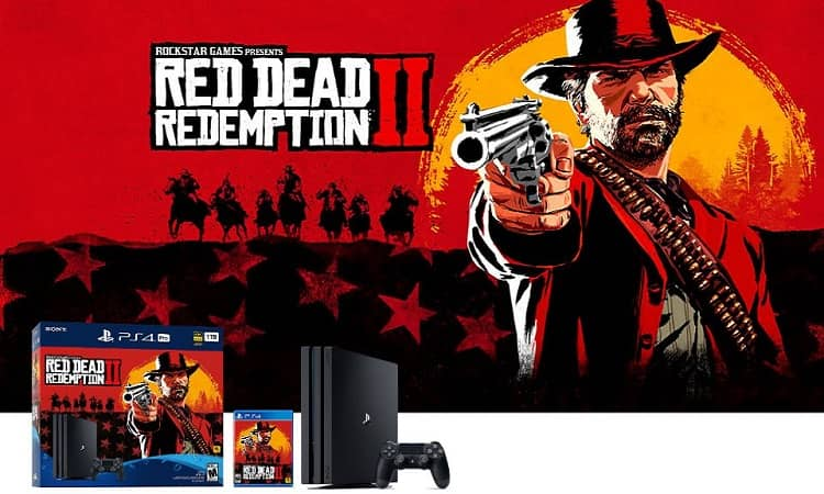 Sony to Release PlayStation 4 Pro Red Dead Redemption 2