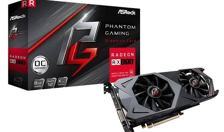 ASRock Phantom Gaming X Radeon RX590 8G