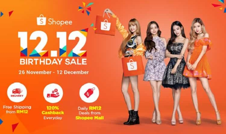 Shopee 12.12 Sale