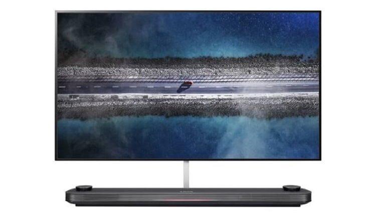 LG W9 OLED TV