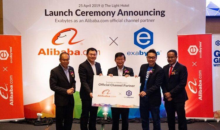 Alibaba.com Partners Exabytes
